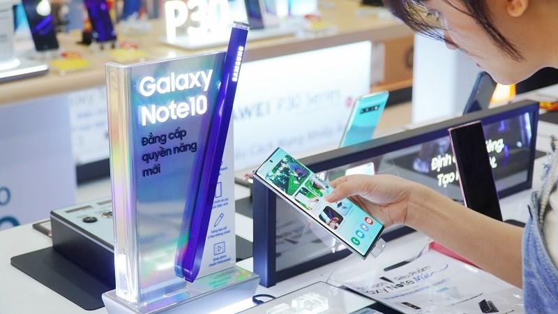 Đặt gạch Galaxy Note 10
