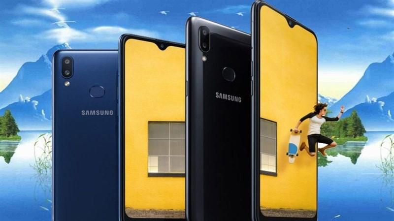 Samsung Galaxy A10s ra mắt với camera kép, pin 4.000 mAh