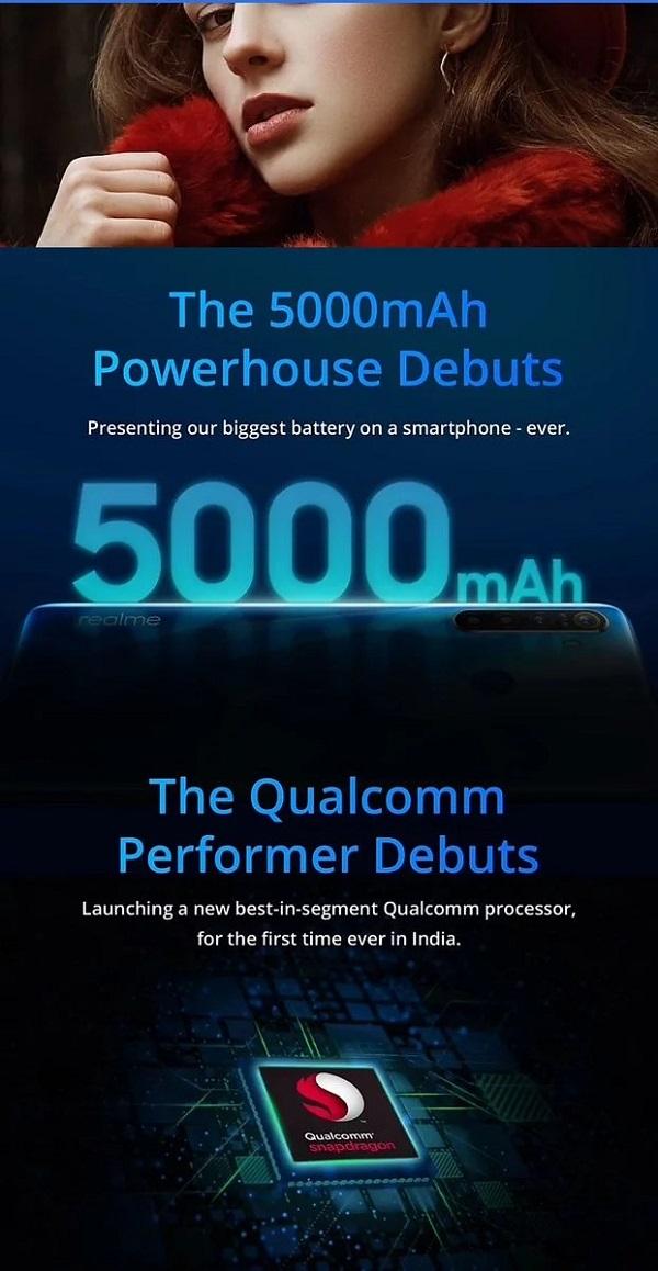 Realme 5 sẽ đi kèm với thỏi pin lên tới 5.000 mAh - ảnh 2