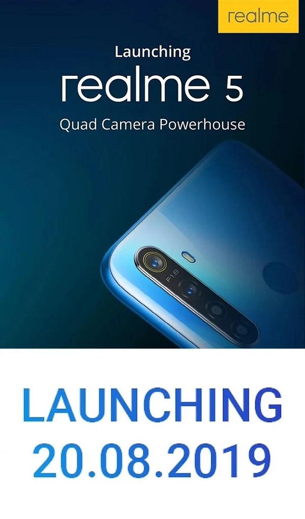 Realme 5 sẽ đi kèm với thỏi pin lên tới 5.000 mAh - ảnh 4