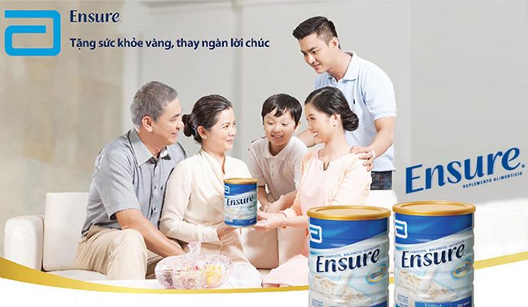 Lợi ích của sữa Ensure với người già và cách uống bảo vệ sức khoẻ
