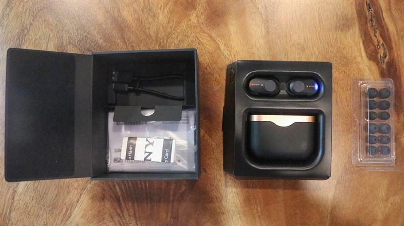 Đập hộp & đánh giá nhanh tai nghe không dây Sony WF-1000XM3: Thiết kế sang, ngầu, chống ồn cực tốt - ảnh 8