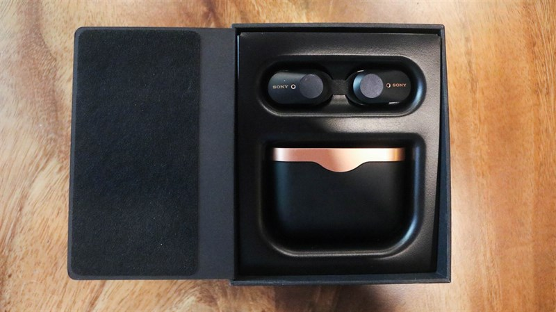 Đập hộp & đánh giá nhanh tai nghe không dây Sony WF-1000XM3: Thiết kế sang, ngầu, chống ồn cực tốt - ảnh 4