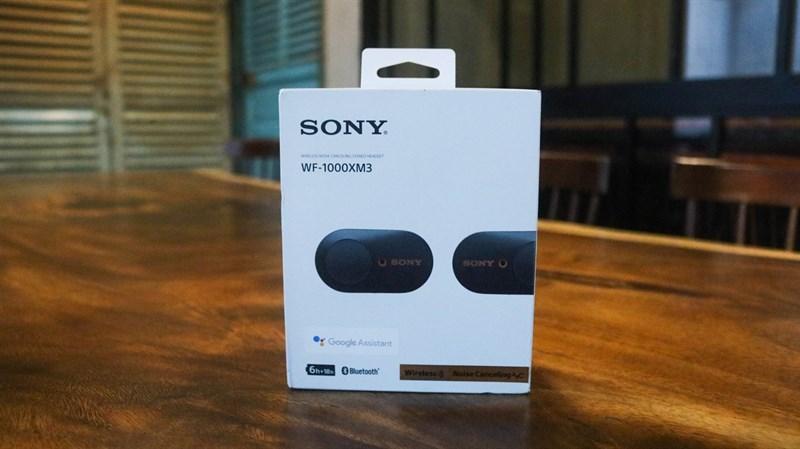 Đập hộp & đánh giá nhanh tai nghe không dây Sony WF-1000XM3: Thiết kế sang, ngầu, chống ồn cực tốt - ảnh 1