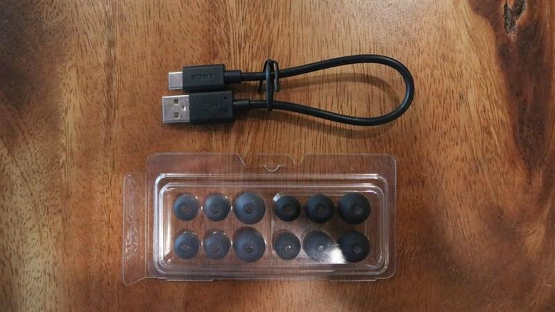 Đập hộp & đánh giá nhanh tai nghe không dây Sony WF-1000XM3: Thiết kế sang, ngầu, chống ồn cực tốt - ảnh 9