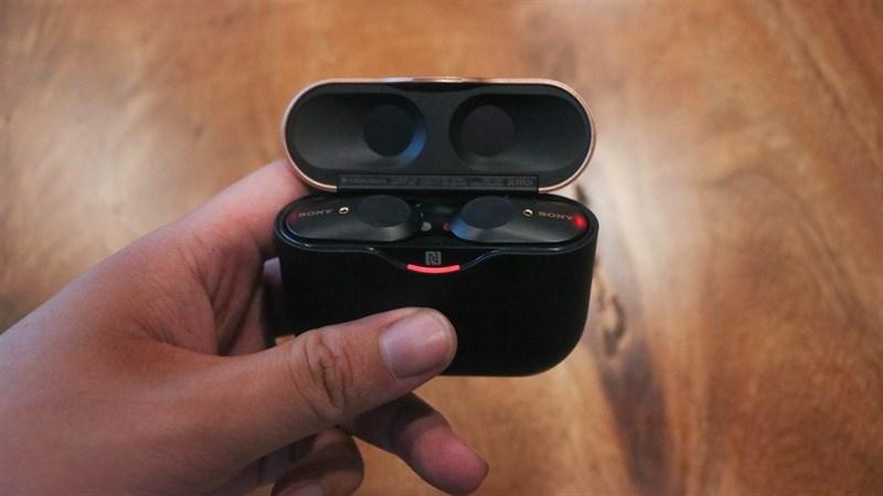 Đập hộp & đánh giá nhanh tai nghe không dây Sony WF-1000XM3: Thiết kế sang, ngầu, chống ồn cực tốt - ảnh 6
