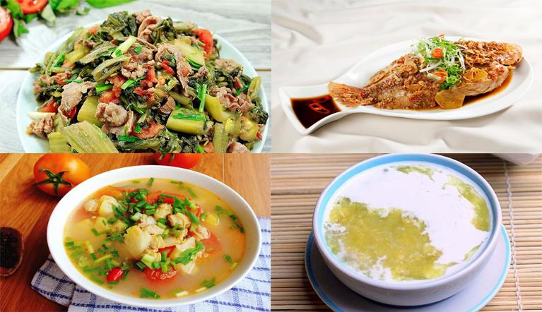 Mẹ đảm nấu cơm cuối tuần toàn món dân dã ngon nhức nhối, nhìn đã thấy thèm