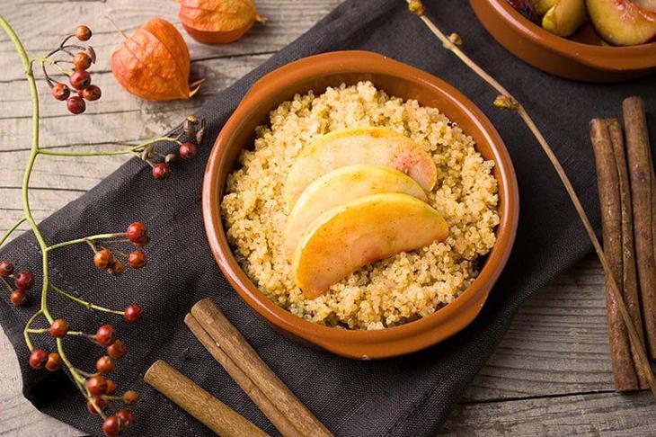Hạt Quinoa được chế biến trong nhiều món ăn