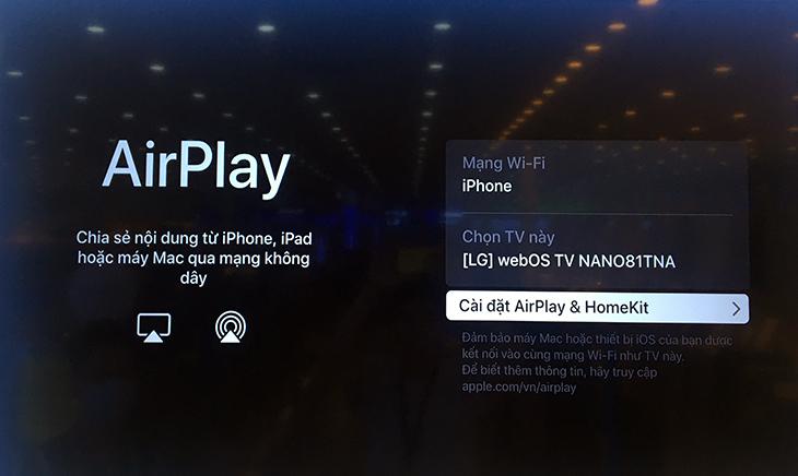 Kiểm tra mạng wifi có cùng kết nối với điện thoại không