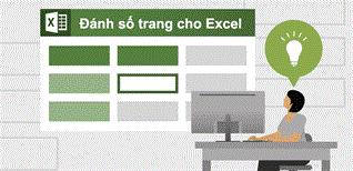 Hướng dẫn cách đánh số thứ tự trang trong Excel khi in