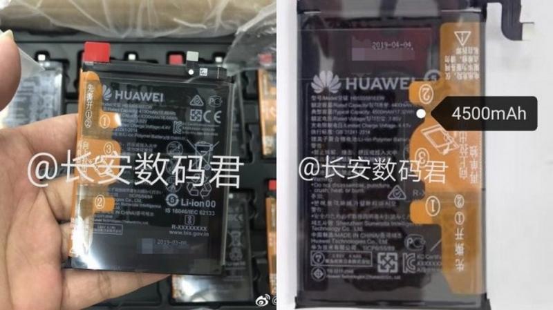 Lộ ảnh thực tế thỏi pin 4.200 mAh và 4.500 mAh của Huawei Mate 30, Mate 30 Pro - ảnh 2