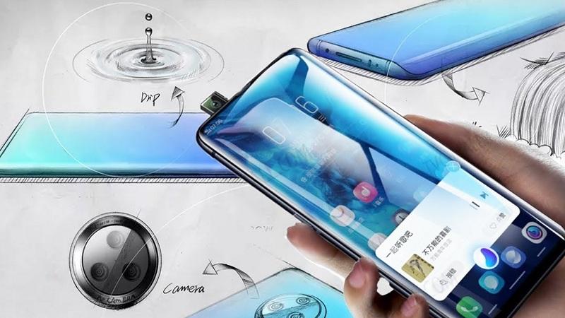 Vivo NEX 3 lộ ảnh thực tế với màn hình thác nước - ảnh 1