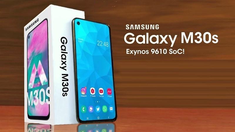 Galaxy M30s pin 6.000 mAh vừa được chứng nhận Wi-Fi