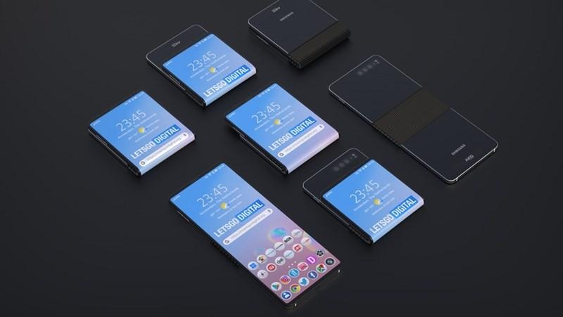Samsung đang phát triển một mẫu smartphone màn hình gập mới