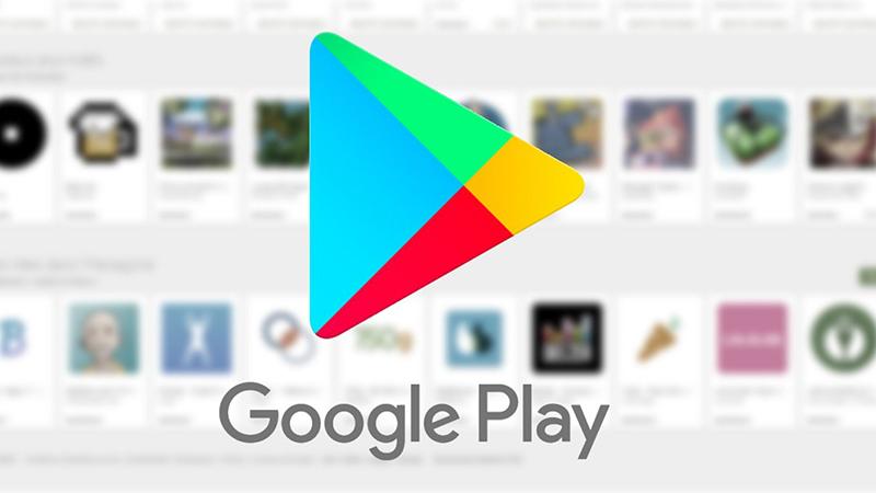 Google Play giao diện mới
