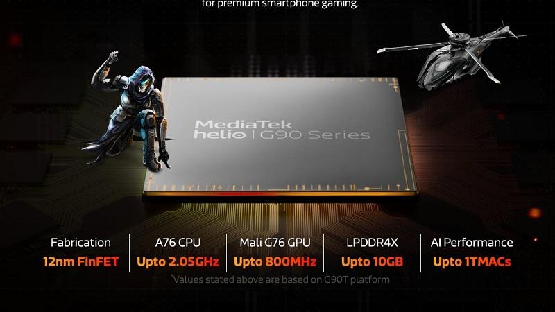 Helio G90T quy trình 12 nm tiêu thụ điện năng cao hơn chip 7 nm chỉ 10%