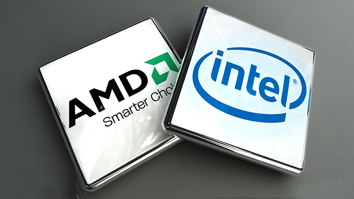 Đối thủ trực tiếp với AMD - Intel