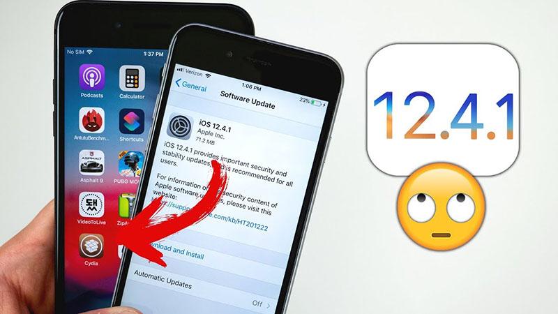 iOS 12.4.1 mới