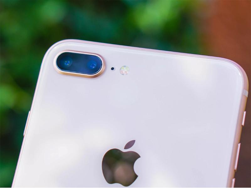 Cụm camera chính của iPhone 8 Plus
