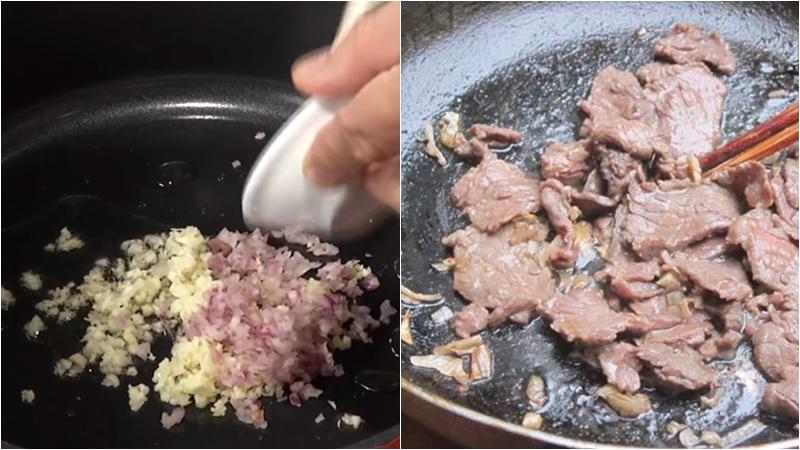 Thịt bò xào