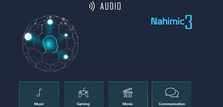 ông nghệ âm thanh Realtek Nahimic 3D Audio