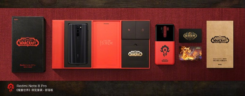 Redmi Note 8 Pro phiên bản World of Warcraft