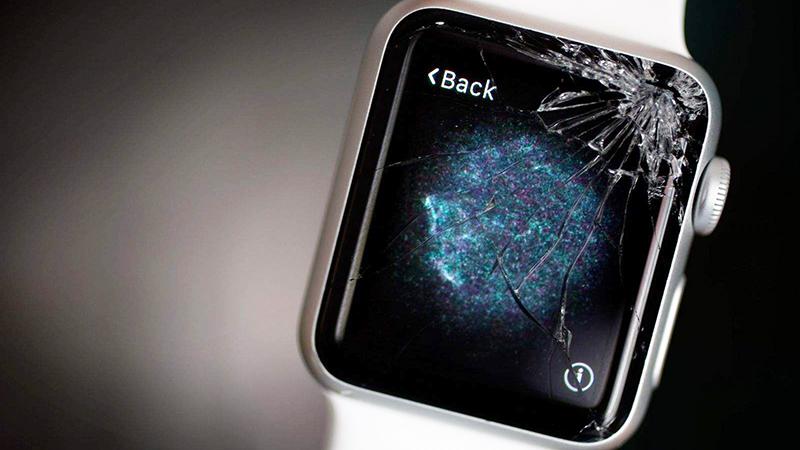 Apple Watch bị nứt màn hình