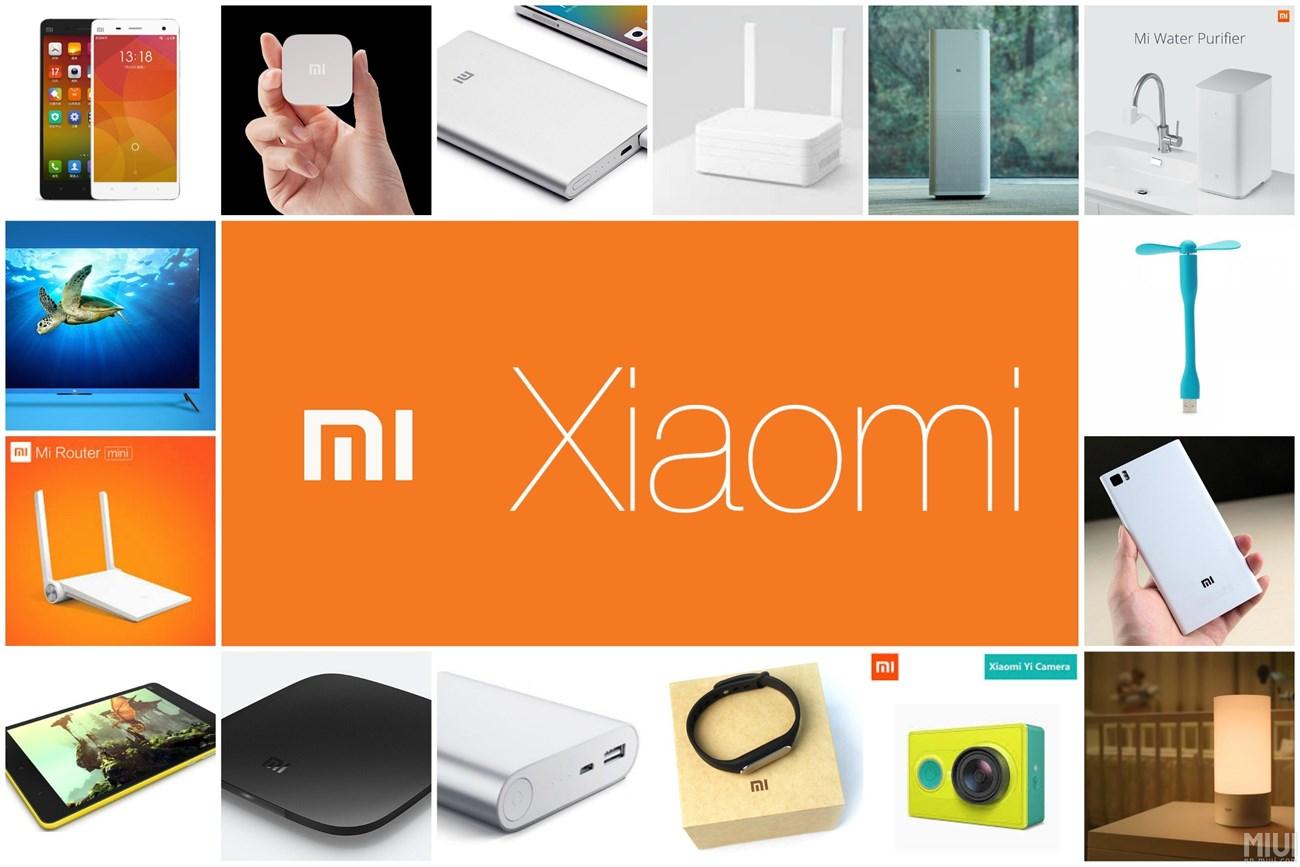Các sản phẩm Xiaomi