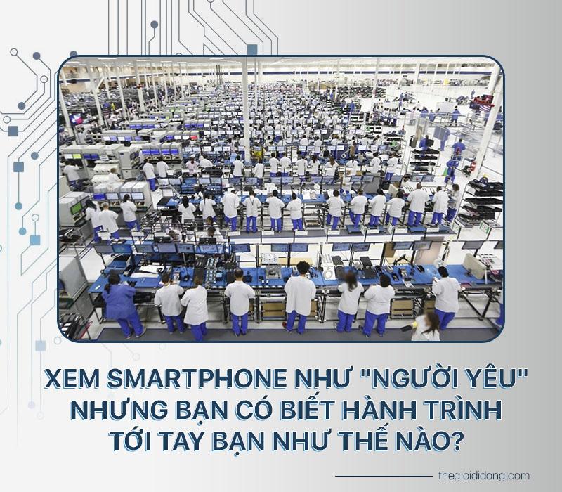 Sản xuất smartphone