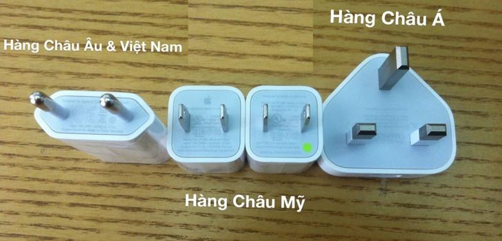 Cách kiểm tra củ sạc iPhone chính hãng - Phân biệt củ sạc iPhone thật giả