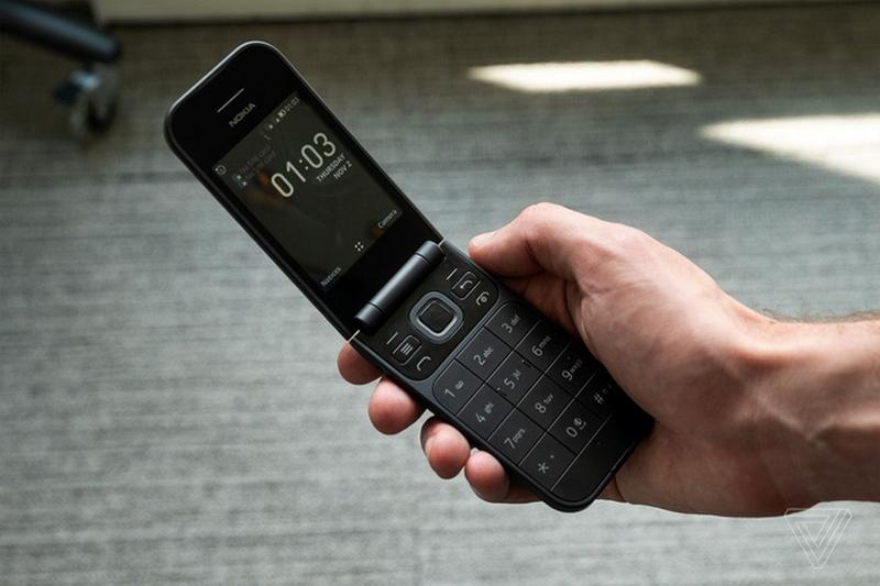 Nokia 2720 nắp gập