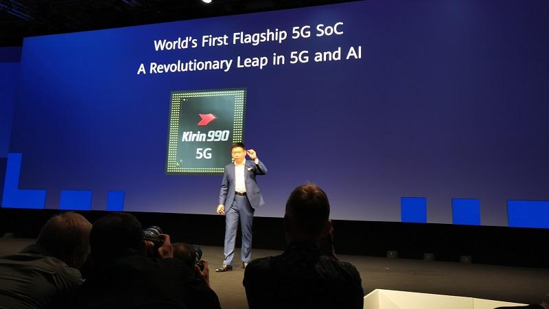 IFA 2019: Huawei công bố chip hàng đầu Kirin 990 và Kirin 990 5G