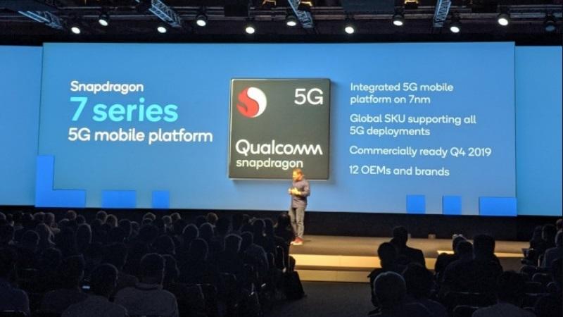 IFA 2019: Qualcomm sẽ phát hành chip Snapdragon 600 & 700 Series tích hợp 5G
