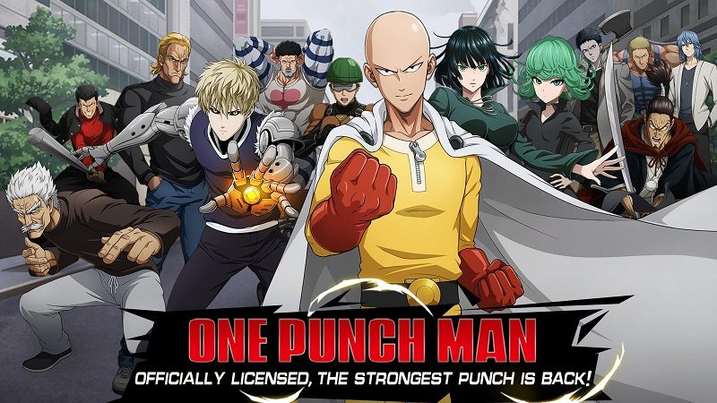 Hình ảnh trong game One-Punch Man: Road to Hero