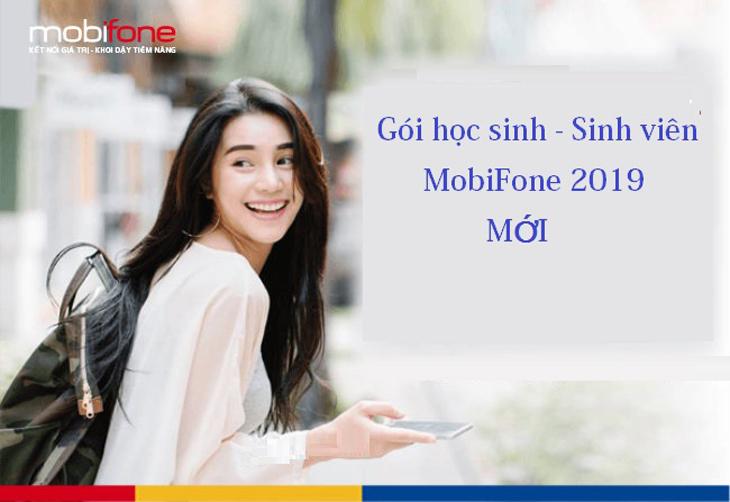 Gói 4G học sinh sinh viên của Mobifone 2019