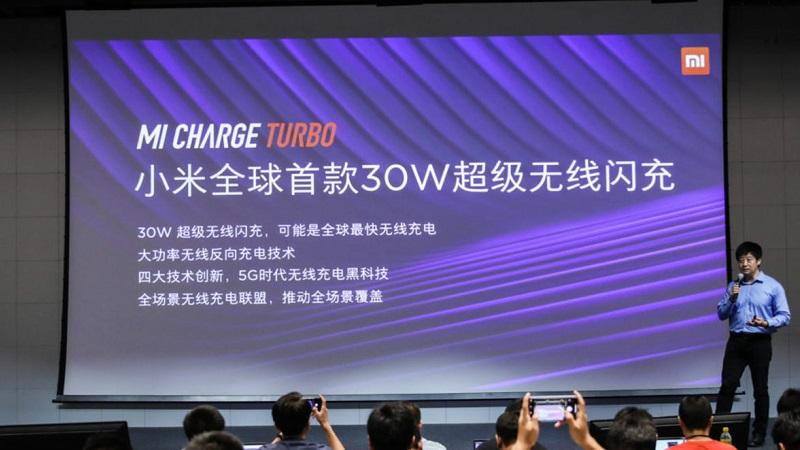 Xiaomi công bố Mi Charge Turbo 30 W, điện thoại nào được dùng đầu tiên?