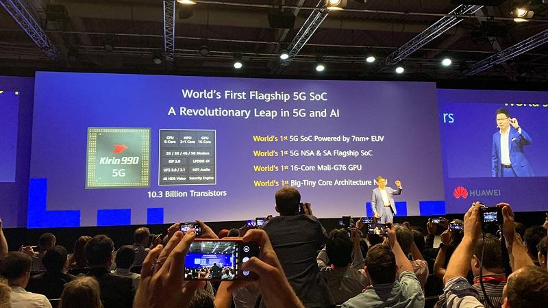 Kirin 990 5G đứng đầu bảng xếp hạng AI Benchmark
