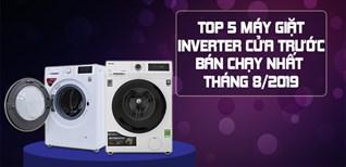 TOP 5 máy giặt Inverter cửa trước bán chạy nhất tháng 08/2019