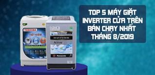 TOP 5 máy giặt Inverter cửa trên bán chạy nhất tháng 08/2019