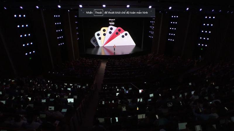 iPhone 11 chính thức trình làng: Camera kép, có Night Mode, pin trâu hơn, chip A13, giá tốt