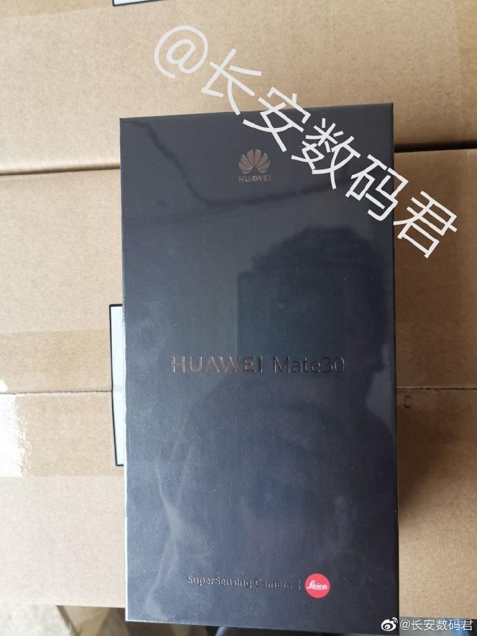 Hộp bán lẻ của Huawei Mate 30 tiết lộ nhiều thông tin thú vị - ảnh 3