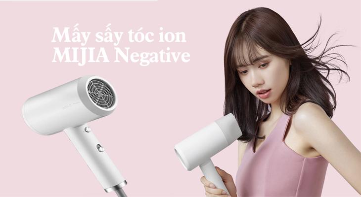 Xiaomi ra mắt mấy sấy tóc ion MIJIA Negative tao ra ion âm bảo vệ tóc