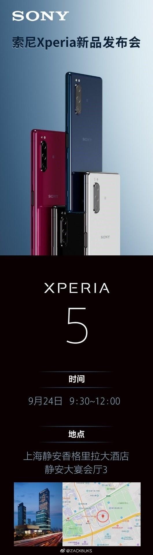 Sony Xperia 5 chuẩn bị lên kệ ở quốc gia láng giềng của Việt Nam