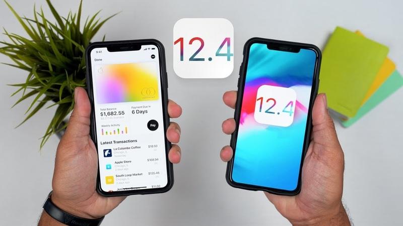 apple khóa sign ios 12.4