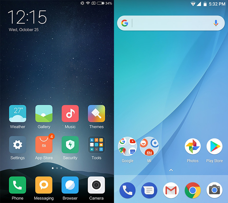 MIUI và Android