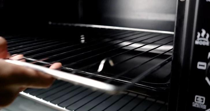 dọn sạch lò nướng