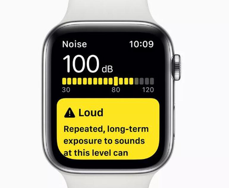 Cảnh báo tiếng ồn trên Apple Watch