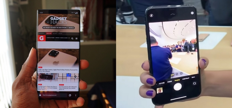 So sánh màn hình hiển thị