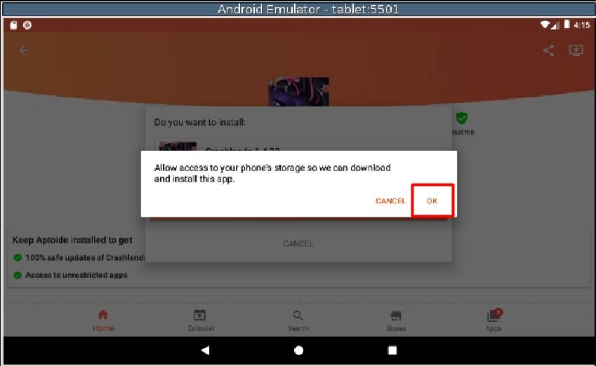Hướng dẫn sử dụng giả lập Android không cần cài đặt phần mềm