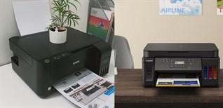 Những tiêu chí so sánh máy in phun và máy in laser, nên mua loại nào?